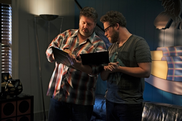 Lance Barber as Paulie G., Seth Rogen as himself
